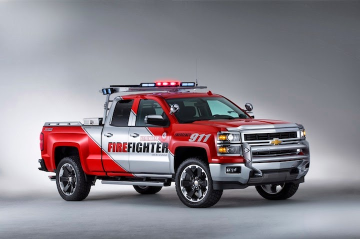 2013 SEMA Chevrolet Silverado VolFirefighter 004 Chevrolet Silverado Black Ops and Volunteer Firefighter Concepts