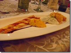 Choritos and Tinapa Mousse