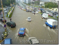 Banjir Jalan Tun Razak Kl 3