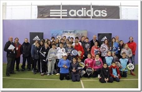 El TyC 1 ADIDAS corona a los primeros campeones en la Ciudad de la Raqueta, Madrid.