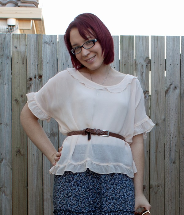 tiered maxi skirt boho
