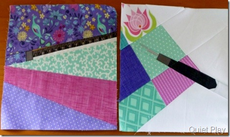 And Sew On - Jan and Feb blocks