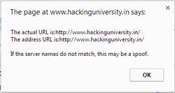 spoofed-URL's