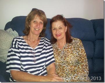 Vicki and Josephine