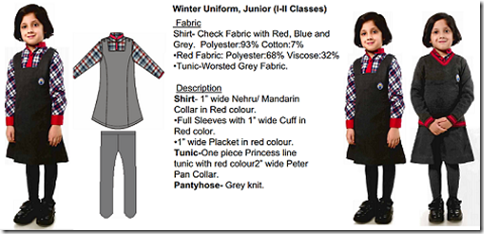 Central School New Uniform 2012 - Winter Junior I-II Classes