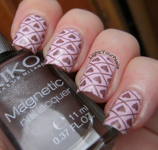 Hearts stamping