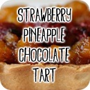 strawberrypineapplechocolatetart