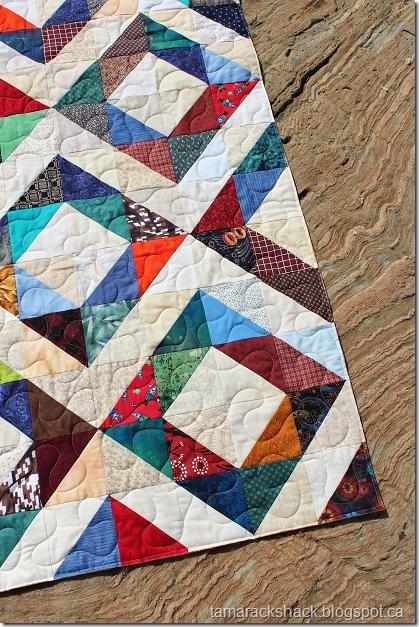 Tamarack Shack: HST Comfort Quilt : hst quilt - Adamdwight.com