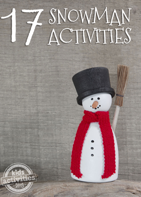 snowman activities for kids