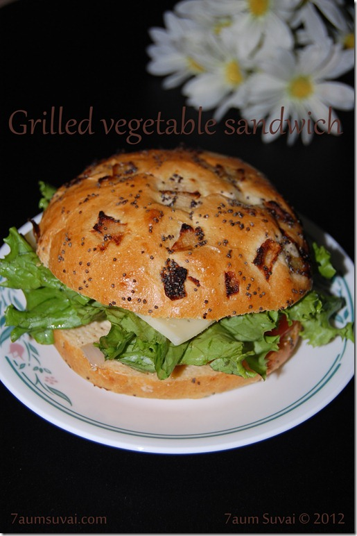 Grilled vegetable sandwich pic4