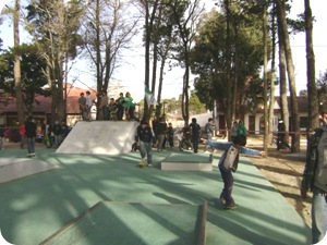 Skatepark en La Lucila