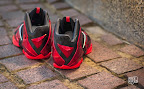 nike lebron 11 gr black red 10 07 New Photos // Nike LeBron XI Miami Heat (616175 001)