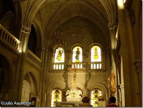 Interior de la capilla de los Hospitales - Pamplona