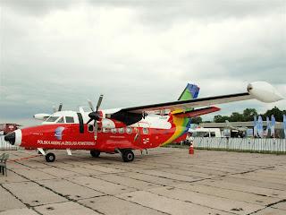"""L 410 Turbolet """"papuga"""""""