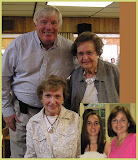 Elsie and granddaughter Christin, daughter Lisa, sister Toni, and son-in-law George (dotybridge.com)