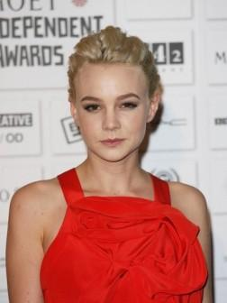 Carey Mulligan Short Updo Hair