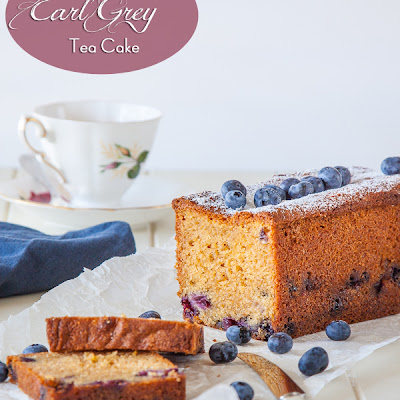 Blueberry and Earl Grey Tea Cake