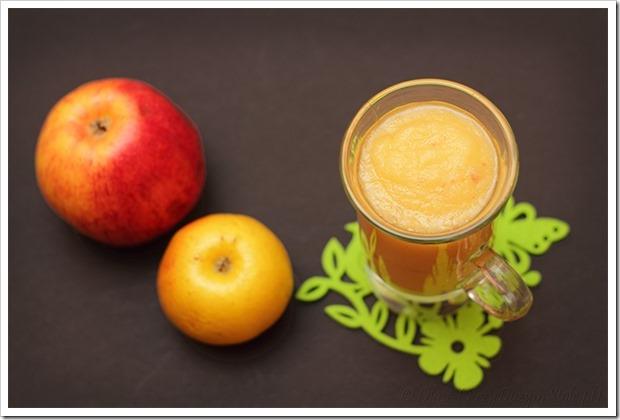 Przy Dużym Stole: Gęsty przecier z jabłek, bomba witaminowa do picia