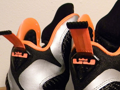 nike lebron 9 gr silver black orange 2 07 New Pics: Upcoming Nike LeBron 9 Mango Slated for March 2nd