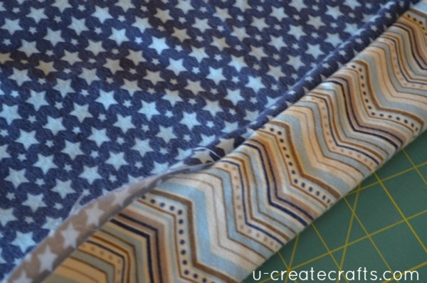 Sewing car seat blanket