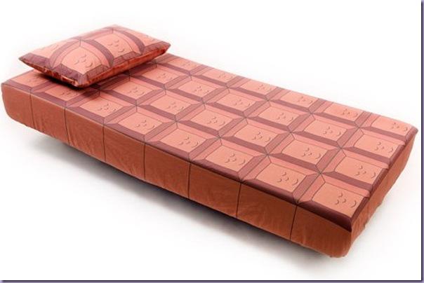 Lençol-Fronha-Tablete-Barra-Chocolate-Cama