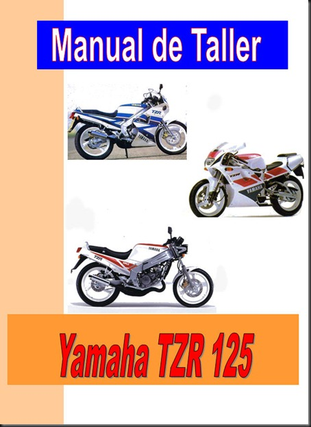 Manual de taller, servicio y despiece Yamaha TZR 125