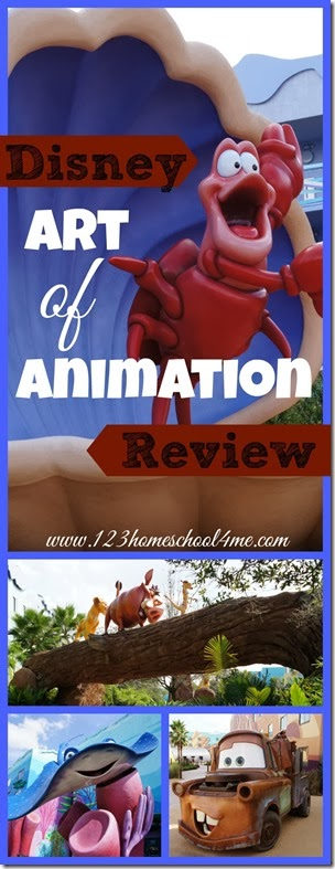 Disney World Art of Animnattion - Disney Hotel Review
