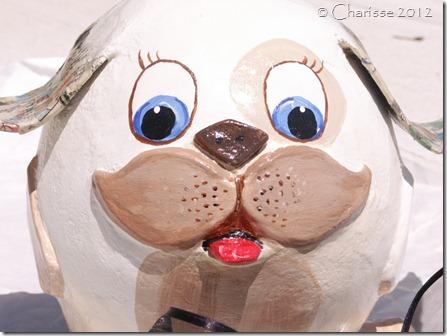Handmade Pup Sculpture 4 Sale