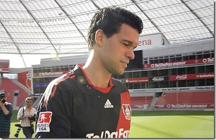 Germany Soccer Bundesliga Ballack