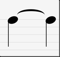 ligaduras de prolongacion musica