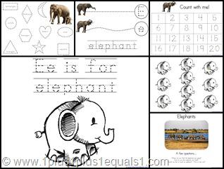 Ee Elephant  Extras