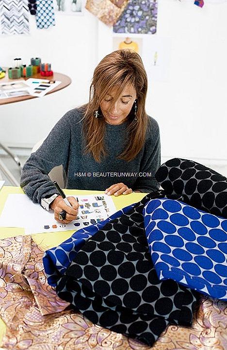 MARNI FOR H&M SPRING 2012 MEN & WOMEN COLLECTION CONSUELO CASTIGLIONI