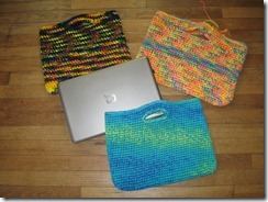 Laptop Bag Knitting Pattern : Knitting Dragonflies: Easy Laptop Bag Pattern (crochet)