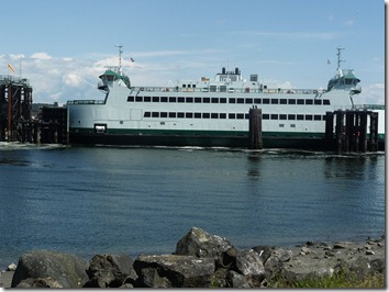 Ferry on the Island