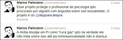 Feliciano reprodução twitter