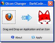 Cambiare icona dei programmi con un clic – QIcon Changer