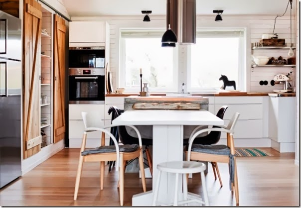 Casa svedese con gusto olandese   case e interni