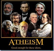 Atheists is Idiot