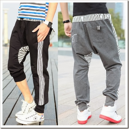 baggy sweatpants