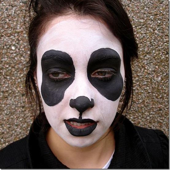 maquillaje de oso panda (4)