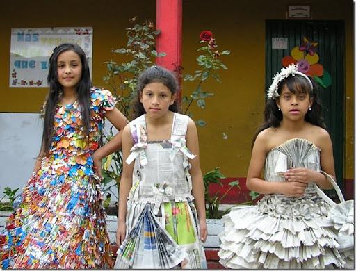 Disfraces escolares con materiales reciclados | pintar y jugar ...