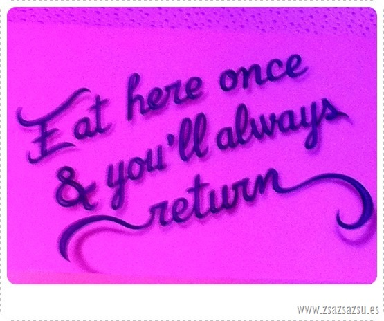 EAT AT HERE
