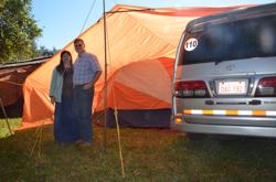 Camping in Iruña
