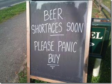 beer shortgage