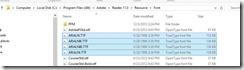 AdobeArialNarrowFontFolder