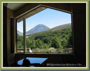 Window's view from Waihohonu Hut