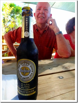 Joe and beer