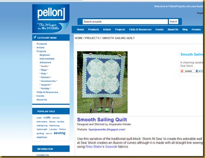 pellon project is finally up