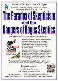 Paradox of Skepticism