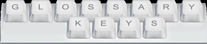 glossary keys